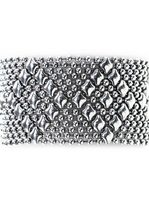 Liquid Metal silver bracelet style 34AS
