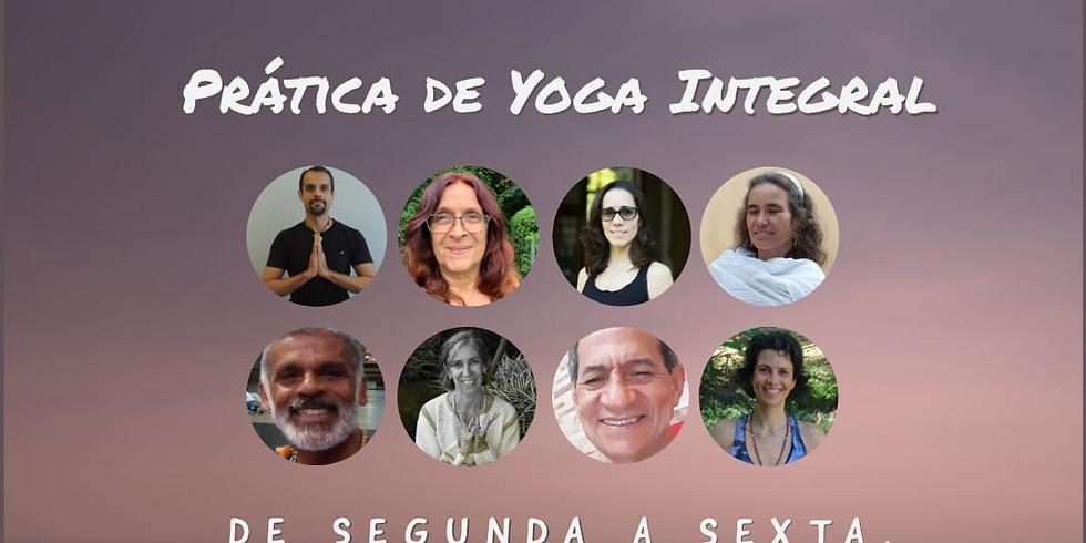 Prática de Yoga Integral