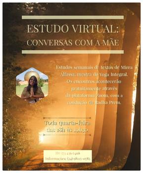 Estudo virtual com Radha Prem