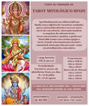 Curso de Formação em Tarot Mitológico Hindu