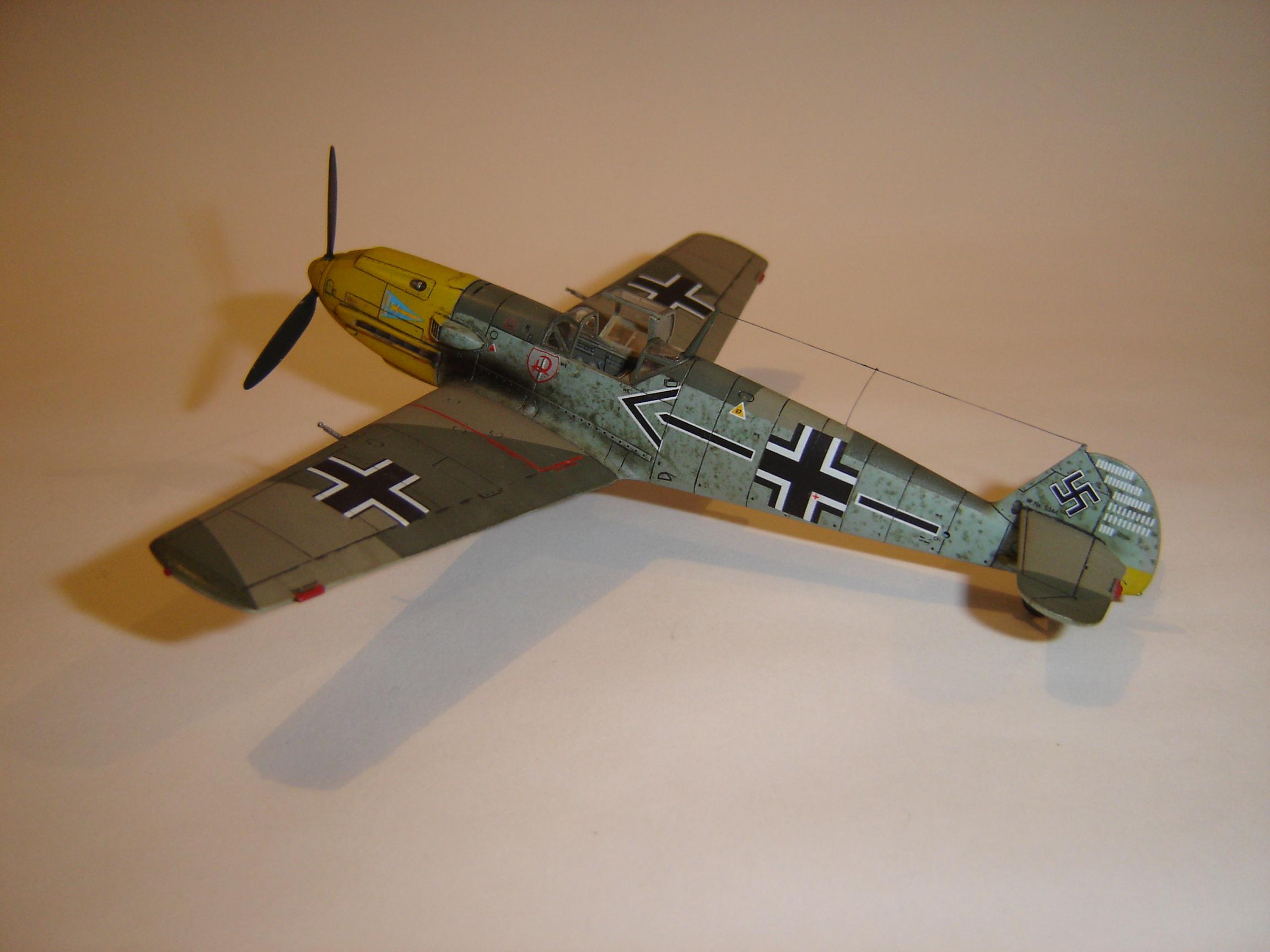 Meshersmitt BF 109 E-4 (2)