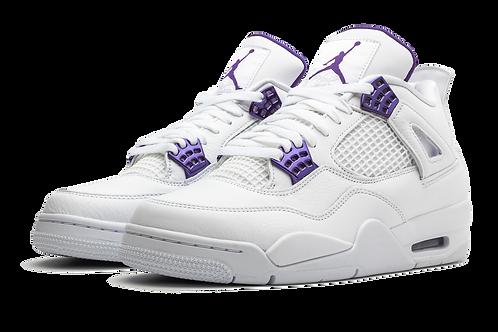 "Jordan 4 Retro ""Metallic Pack - Purple"""