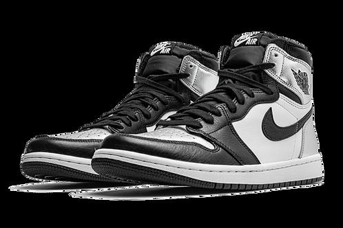 "Air Jordan 1 Retro High OG WMNS  ""Silver Toe"""