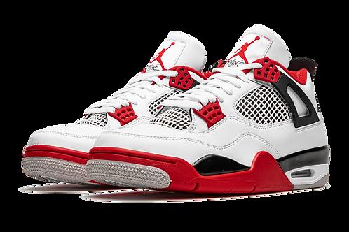"Jordan 4 Retro ""Fire Red 2020"""