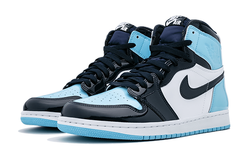 "WMNS Air Jordan 1 High OG ""UNC Patent Leather"""