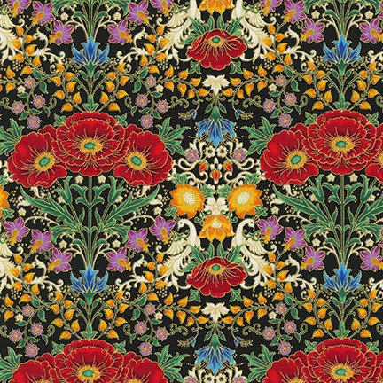 Jewel Poppy | Florentine Garden by Hyun Joo Lee | Robert Kaufman