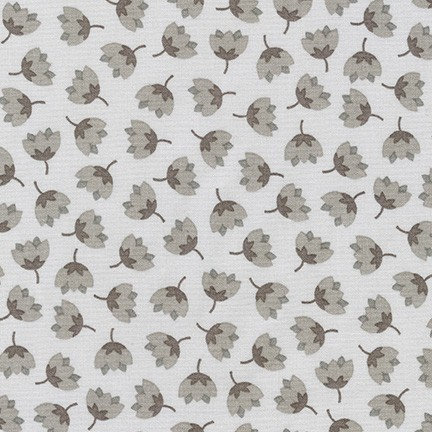 Florals in Grey | Arctic Collection | Robert Kaufman Fabrics