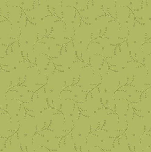 Dotted in Vines Green | Bear Essentials 3 | P&B Textiles
