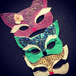 Looking for a #halftermactivity -our mask making class for adult and child still has places for 14 F