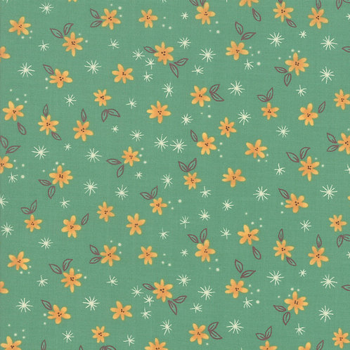 Spaced Floral in Mist | Last Bloom Collection | Moda Fabrics​​​​