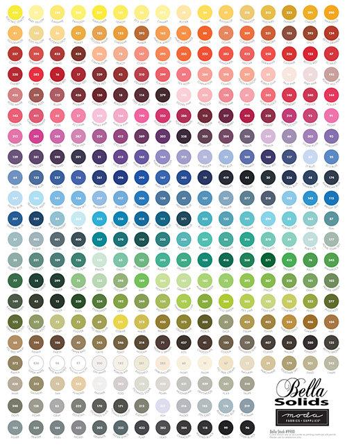 My Favorite Color is Moda | Moda Bella Solids | Moda Fabric