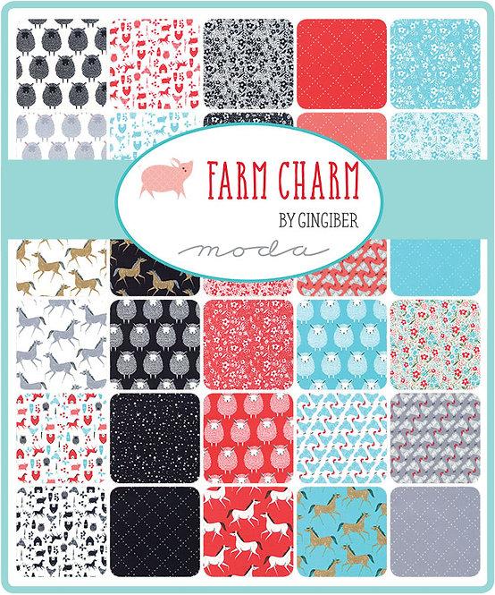 Farm Charm Charm Pack | Farm Charm by Gingiber | Moda Fabrics