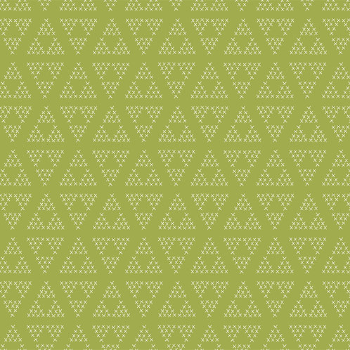 Cross Stitch in Green | Hand Picked Collection | Sweet Bee Designs