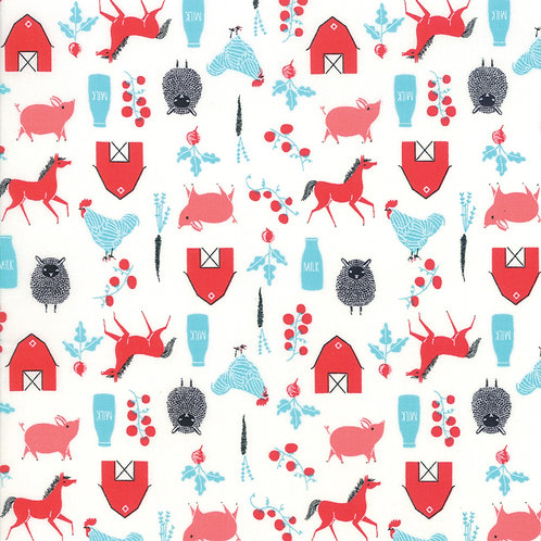 Farm in Multi | Farm Charm by Gingiber | Moda Fabrics