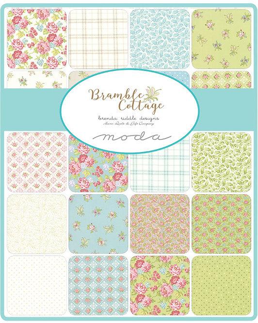 Bramble Cottage Charm Pack | Bramble Cottage by Brenda Riddle | Moda Fabrics