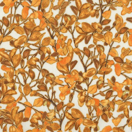 Harvest Leaves | Shades of Season 11 | Robert Kaufman Fabrics