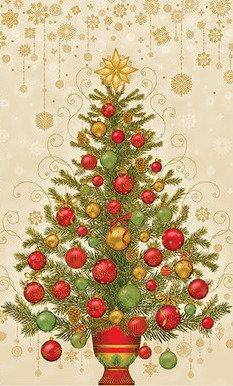 Dazzling Tree Cream | Holiday Flourish | Robert Kaufman