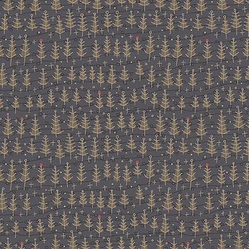 Trees in Dark Blue | Winter Wonderland | Henry Glass & Co