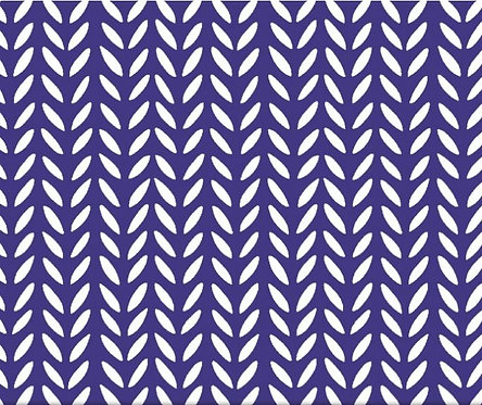 Herringbone Purple | Flourish Collection | Windham Fabrics
