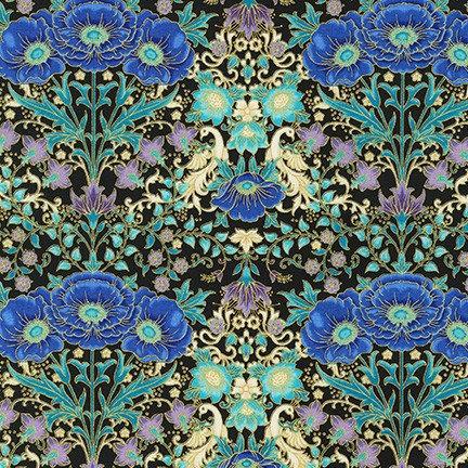 Multi Poppy | Florentine Garden by Hyun Joo Lee | Robert Kaufman