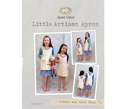 Little Artisan Apron | Janet Clare Patterns | Janet Clare