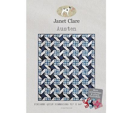 Austen | Janet Clare Quilt Patterns | Janet Clare