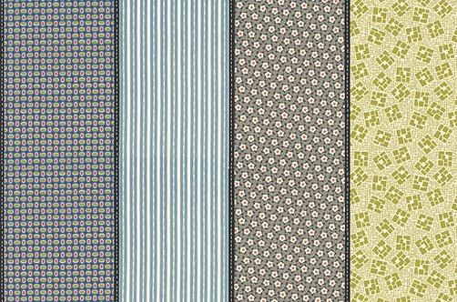 Lollies - Deep Water   Winkipop - Jen Kingwell   Moda Fabrics