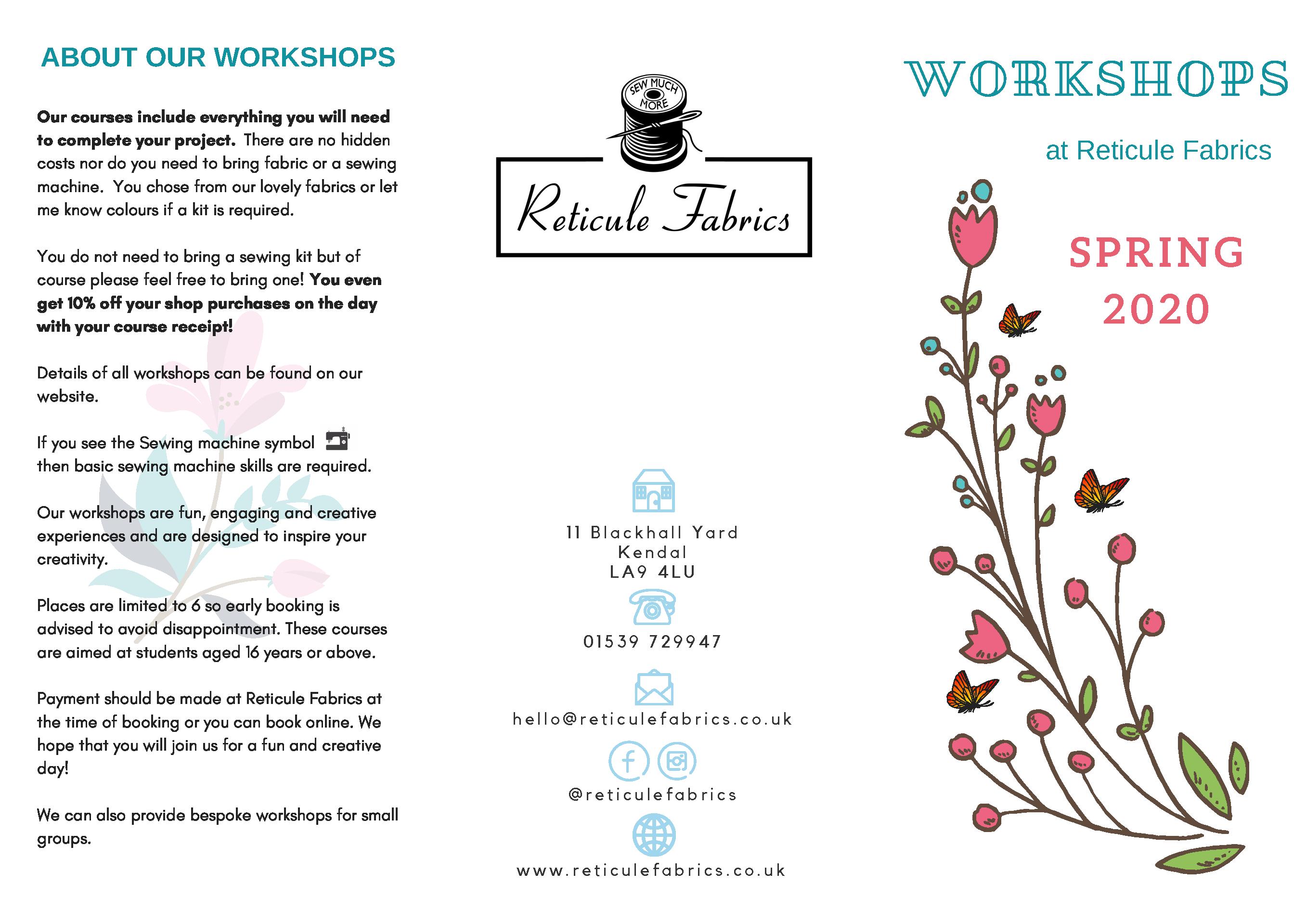 Workshop Spring 2020