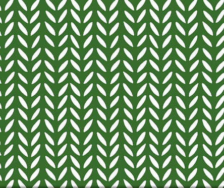 Herringbone Green | Flourish Collection | Windham Fabrics