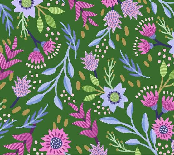Flourish Green | Flourish Collection | Windham Fabrics