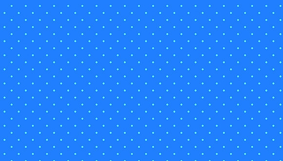Candy Dot Electric Blue | Sweet Shoppe Too Collection | Makower UK