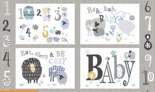 Bah Bah Baby Panel  | Bah Bah Baby | Windham Fabrics