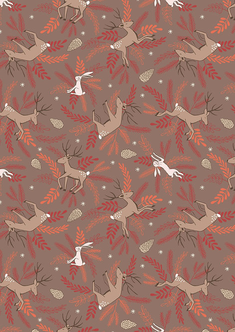 Deer and Hare on Earth | New Forest Winter Collection | Lewis and Irene