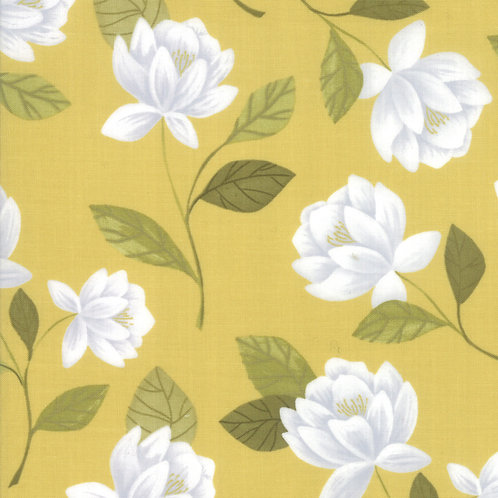 Raleigh Floral in Gold | Goldenrod Collection | Moda Fabrics