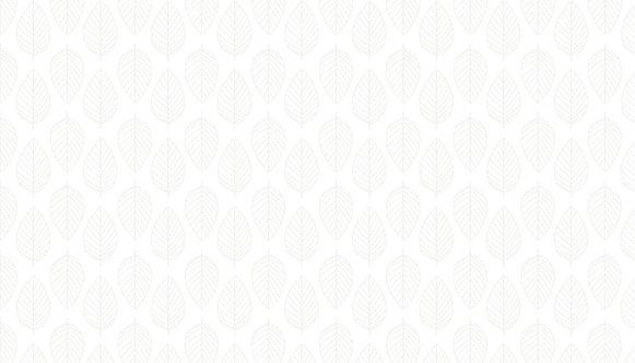 Essentials 26 - Leaf in White | Basic Collection | Makower UK