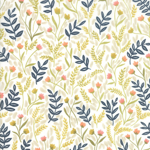 Meadow Floral in Gold | Goldenrod Collection | Moda Fabrics​​​​
