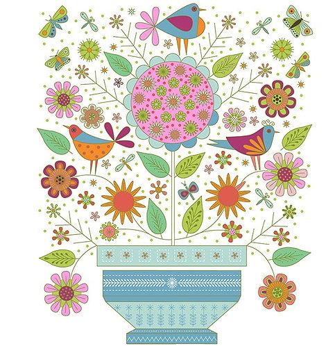Summer Sampler Panel | Summer Sampler | Clothworks
