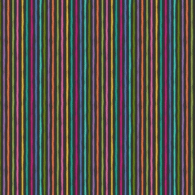 Chalky stripe on Grey | Katy's Cats | Makower UK