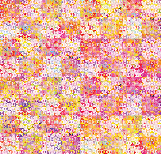 Digital Triangles Parfait | Gradients 2 Collection | Moda Fabrics