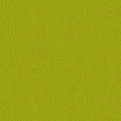 Contours in Acid Green | Spectrum Collection | Nutex