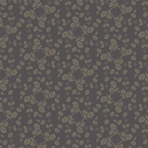 Flower Pillow Slate | French Armoire Atelier Perdu | Windham Fabrics