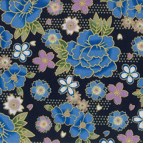 Sokyo Navy| Japanese Prints Collection | Nutex