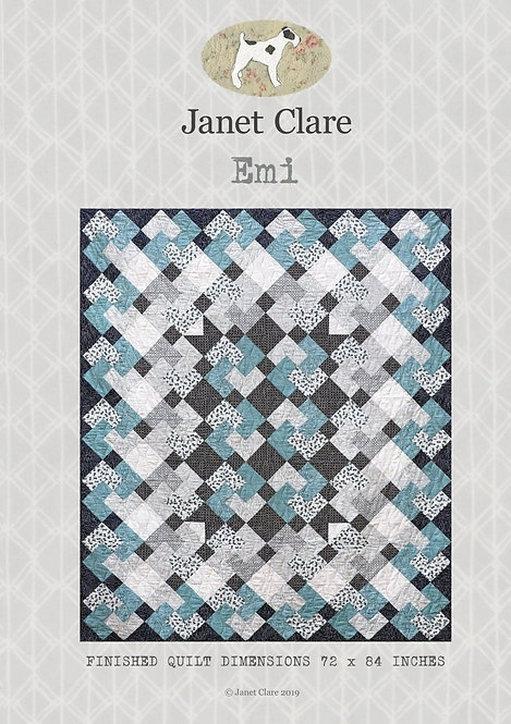 Emi | Janet Clare Quilt Patterns | Janet Clare