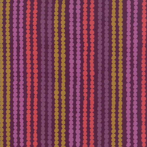 Stripes in Plum | Growing Beautiful Collection | Moda Fabrics