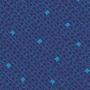 Pennants on Midnight | Great British Quilter Collection | Dashwood Studio