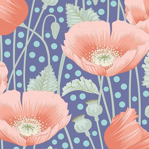 Poppies Blue    Garden Life Collection   Tilda