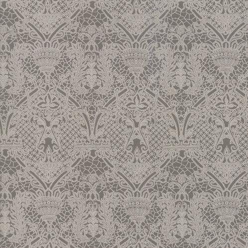 Eloise Lace in Medium Grey | Stiletto Collection | Moda Fabrics