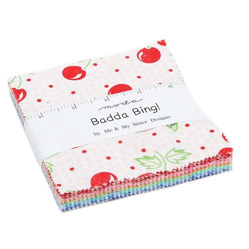 "Badda Bing - 5"" Charm Pack by Moda Fabrics"