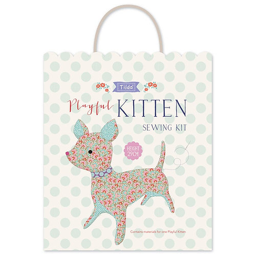 Playful Kitten  | Lazy Days Collection | Makower UK
