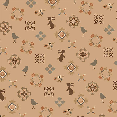 Small Friends - Dusty Blush  | French Armoire Atelier Perdu | Windham Fabrics